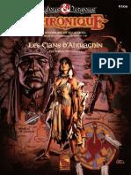 D&D BGR GAZ14 Les Clans d'Atruaghin Guide des Joueurs