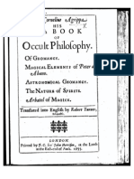 Agrippa - Fourth Book of Occult Philosophy