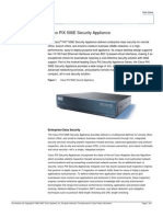 Cisco PIX 506E Security Appliance