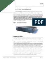 Cisco PIX 506E Security Appliance