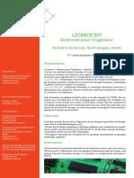 Licence SPI