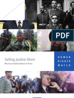HRW Selling Justice Short