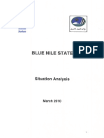 Blue Nile State Situation Analysis March 2010