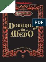 AD&D 2E - Domínios Do Medo (Impressão)