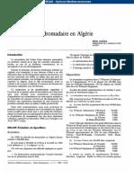 Dromadaire en Algérie