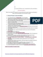 agile documentation
