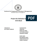 MERGER AND ACQUSITIONS PROJECT