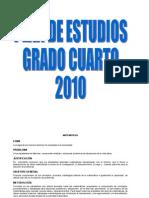 Plan de estudios 2010 grado 4.doc CORREGIDO