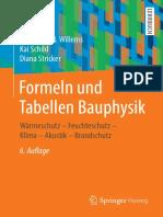(Cvrt Ave - Kelompok a) - Formeln Und Tabellen Bauphysik_ Wärmeschutz – Feuchteschutz – Klima – Akustik – Brandschutz - Springer Vieweg (2020)