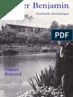 Daniel Bensaïd - Walter Benjamin Sentinelle Messianique-Plon (1990)