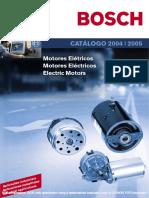 Catalogo Motor Bosch