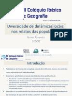 Diversidade dinamicas locais