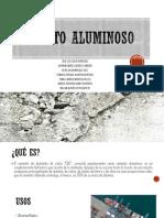 Cemento Aluminoso- Grupo 3