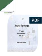Support de cours de la finance d'entreprise FGE 200