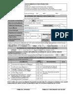 Fromato entrega de documentos
