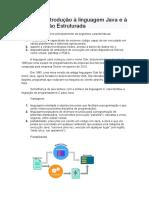 Aula 01 - Introdução à linguagem Java e à Programação Estruturada