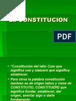 3o.LA CONSTITUCION