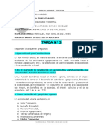 TAREA Nº 3.DERECHO AGRARIO Y FORESTAL