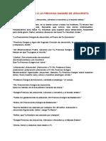 JACULATORIAS DE LA PRECIOSA SANGRE DE JESUCRISTO