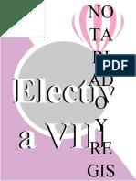 ELECTIVA VIII NOTARIADO Y REGISTRO