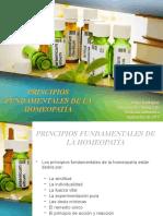 Principios fundamentales de la homeopatia