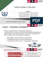 COSO CONTROL INTERNO Y ERM