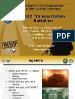 Sddc Brief to Mac 11-03-09