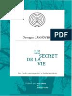 Lakhovsky - Le Secret de La Vie