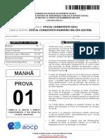Gabarito Pm Es 2018