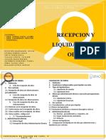 TEMA 11 - RECEPCION Y LIQUIDACION DE OBRAS