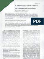 Del Río & Strasser (2007) Niños y Teoría Esencialista de la Pobreza