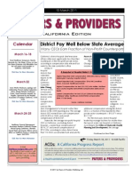 Payers & Providers California Edition – March 10, 2011