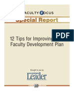 report-12-tips-for-improving-faculty-dev-plan