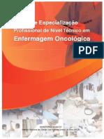 Curso Especializacao Profissional Nivel Tecnico Enfermagem Oncologica Guia Curricular