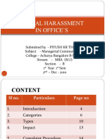 Sexual harassment ppt 97-003