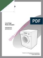 Samsung q1657av Lave Linge Notice 1521