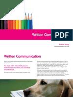 written-communication