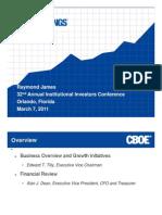 CBOE-Investor Presentation_Raymond_James_2011_final_3_4_11