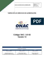 RAC_3.0_02_Tarifas_del_Servicio_de_Acreditación_V13_1_