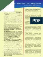 Boletín FCL Marzo 2011