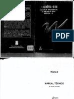 WAIS-III Manual de Inteligencia Para Adultos-III