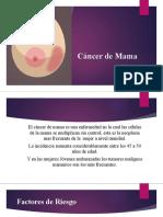 cancer de mama.