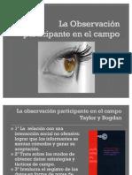 La Observación participante