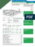 4.10.13 Plafon Fals Rezistent La Foc Structura CDUD Rigips RF