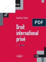 Droit international privé (ouvrage)