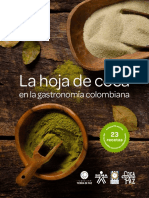 La Hoja de Coca en La Gastronomia Colombiana