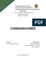 Contratos de consignación
