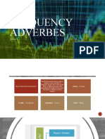 Frequency adverbes