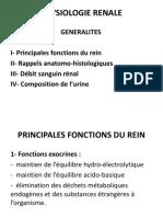 1- Généralités sur la physiologie rénale (1).pdf · version 1