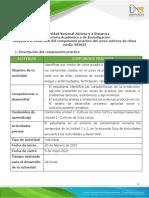 Protocolo de práctica cultivos de clima medio